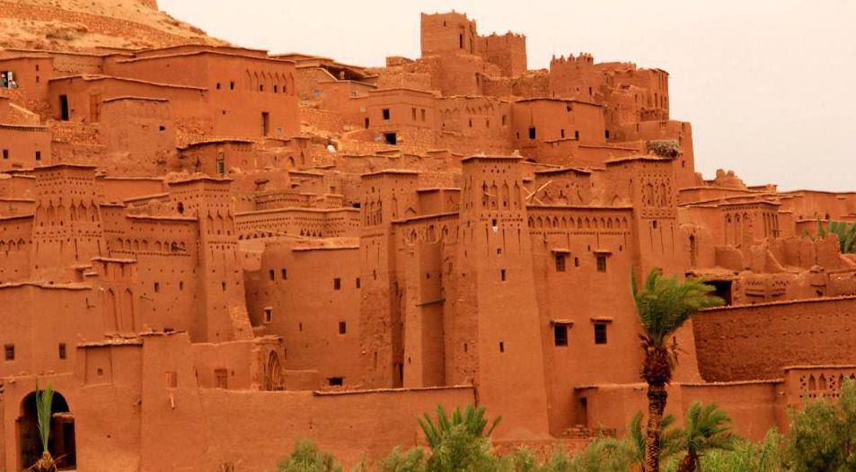 Las dunas del desierto de Marruecos