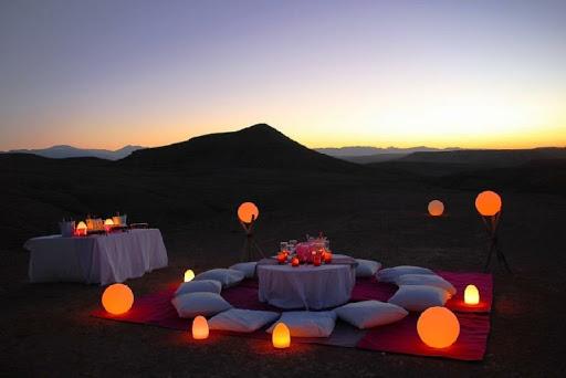 luna de miel en el desierto de marruecos